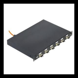 """PANDUIT NetKey 19"""" optikai rendezőtálca, kihúzható, 1U magas, 6xSC duplex, OM1 62.5/125"""