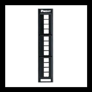 PANDUIT NetKey 12 portos moduláris patch panel keystone betétekhez
