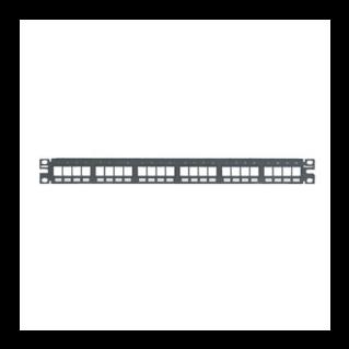 PANDUIT NetKey 24 portos moduláris patch panel keystone betétekhez, 1U