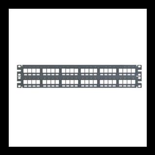 PANDUIT NetKey 48 portos moduláris patch panel keystone betétekhez, 2U