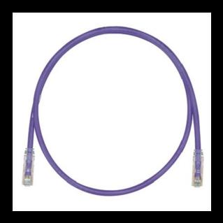 PANDUIT NetKey Category 6 UTP patch kábel, lila, L=15m