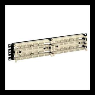 "PANDUIT Pan-Punch 110 Category 5e punchdown üres kirendező alap 19"" panelre szerelve, 2x100 érpáras, 2U magas"