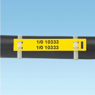 PANDUIT P1 kötegelhető kábeljelző lap címkeszalag kazetta LS8E kézi címkenyomtatókhoz, W=76.2mm