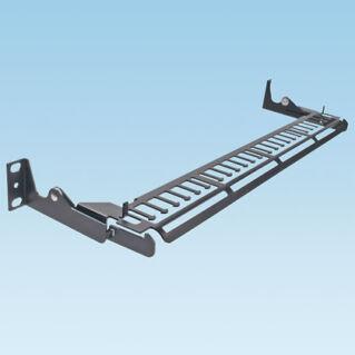 PANDUIT kábel tehermentesítő sáv patch panelekhez, kihúzható mechanikával