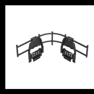 """PANDUIT Wyr-Grid bepattintható kanyaridom oldallap mennyezeti kábeltálcákhoz, 2"""" (50 mm) magas"""