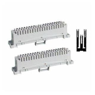 10x2 LSA rendszerű nem leválasztható végelzáró