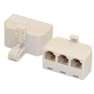 6P4C párhuzamosító adapter (1apa,3anya)