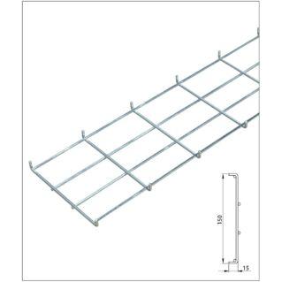 ZPAS 30 mm mély rácsos kábeltálca 45-47U SZB IT rack szekrényekbe, 2000 mm
